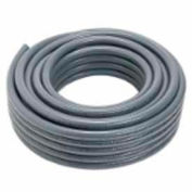 "Carlon® Carflex® Liquidtight Fitting, 15004-100, Conduit, 3/8"" 100' Coil, Gray - Pkg Qty 100"