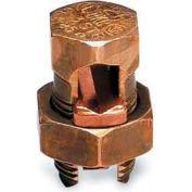 BlackBurn Split-Bolt Connector 40H, High Strength, Bronze Alloy, 250 Kcmil-1 Str. - Pkg Qty 25