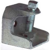 "Steel City Malleable Iron Beam Clamp, 1/4""-20 Threaded Openings"