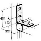 Superstrut 90° Steel Angle Fitting AB205-GR, 4-Hole, W/Green Urethane Finish