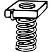 "Kindorf B9111/4 1/4"" Steel Spring Channel Nut W/Galv-Krom® Finish"