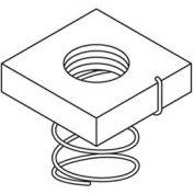 "Kindorf B9121/4 1/4"" Steel Short Spring Channel Nut W/Galv-Krom® Finish"