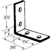 Superstrut 90° Steel Corner Angle N205 EG, 4-Hole, W/Silvergalv™ Finish