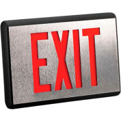 Emergi-Lite DX1R-N Die-Cast Aluminum Exit Sign - (Ac-Only Single Face)