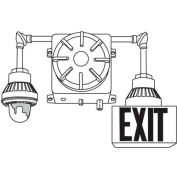 Emergi-Lite EXC5-1IC-T1SR Explosion Proof Combination Unit - 6V (Or 12V) 50W w/ 1 Head & 1 Exit
