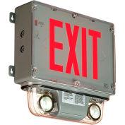Emergi-Lite GGSVXRD2LA Class 1 Div 2 Combination Unit - 6V, 8W, Nicad Battery, 2- 4W LED MR16 Lamps