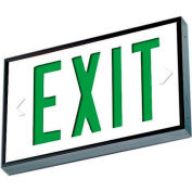 Emergi-Lite WSLX-1061G-N Everlite Tritium Exit Sign - 10 Year Single Face Green