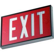 Emergi-Lite WSLX-1062R-N Everlite Tritium Exit Sign - 10 Year Double Face Red