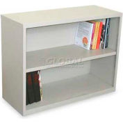 "Ensemble Two Shelf Bookcase, 36""W x 14D x 27H - Featherstone Finish"
