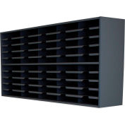 "Marvel® 40 Pocket Sorter, 32""H x 48""W, Black"