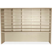"""Marvel® Utility Sorter with Riser, 42""""H x 60""""W, Putty"""