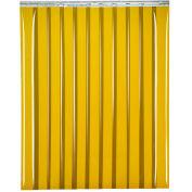 "TMI Welding Strip Door SD14-8-10X8 - 10'W x 8'H - 8"" Amber Tint PVC"