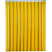 "TMI Welding Strip Door SD48-8-10X8 - 10'W x 8'H - 8"" Dark Green Tint PVC"