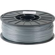 Toner Plastics Premium 3D Printer Filament, ABS, 1 kg, 1.75 mm, Silver