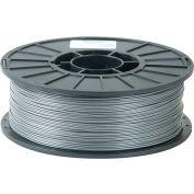 Toner Plastics Premium 3D Printer Filament, ABS, 1 kg, 3 mm, Silver