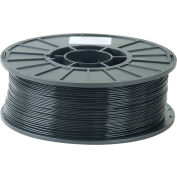 Toner Plastics Premium 3D Printer Filament, PLA, 1 kg  3 mm, Black