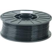 Toner Plastics Premium 3D Printer Filament, PLA, 1 kg,  3 mm, Black