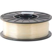 Toner Plastics Premium 3D Printer Filament, PLA, 1 kg, 3 mm, Natural