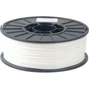 Toner Plastics Premium 3D Printer Filament, PLA, 1 kg, 3 mm, White