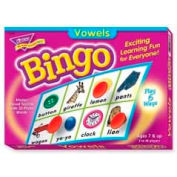 Trend® Vowels Bingo Game, Age 7 & Up, 3 to 36 Players, 1 Box