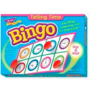 Trend® Telling Time Bingo Game, Age 6 & Up, 3 to 36 Players, 1 Box