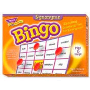 Trend® Synonyms Bingo Game, Age 10 & Up, 3 to 36 Players, 1 Box