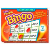 Trend® Homonyms Bingo Game, Age 9 & Up, 3 to 36 Players, 1 Box