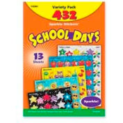 Trend® School Days Stickers, Acid-Free, Nontoxic, 432 Stickers/Pack