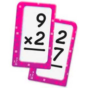 "Trend® Multiplication 0-12 Pocket Flash Cards, 3-1/8"" x 5-1/4"", 56 Cards/Box"