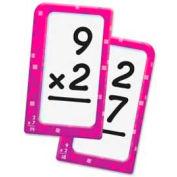 "Trend® Multiplication 0-12 Pocket Flash Cards, 3-1/8"" x 5-1/4"", 56 Cards/Box"