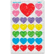 Trend® Sparkle Hearts SuperSpots® Stickers, 100 Stickers/Pack