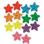 Trend® Colorful Sparkle Stars SuperSpots Stickers Value Pack, 1300 Stickers/Pack