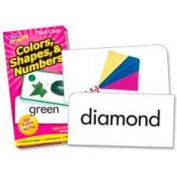 Trend® Colors, Shapes & Numbers Flash Cards, 96 Cards/Box