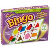 Trend® Colors & Shapes Bingo Game, 3 to 36 Players, 1 Box