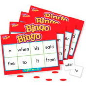 Trend® Sight Words Bingo Game, Age 5 & Up, 3 to 36 Players, 1 Box