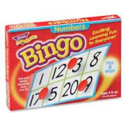 Trend® Numbers Bingo Game, Age 4 & Up, 3 to 36 Players, 1 Box