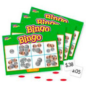 Trend® Money Bingo Game, Age 5 & Up, 3 to 36 Players, 1 Box