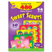 Trend® Sweet Scents Stinky Stickers Variety Pack, 480 Stickers/Pack