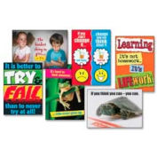 "Trend® Stay Focused ARGUS® Posters Combo Pack, 13-3/8"" x 19"", 6/Pack"