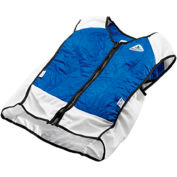 Techniche 4531 Elite Hybrid Sports Dual Cooling In One Vest, L, Blue