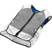 Techniche 4531 Elite Hybrid Sports Dual Cooling In One Vest, L, Silver