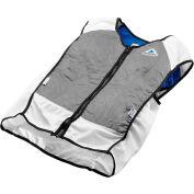 Elite Hybrid Sports Vest, L, Silver