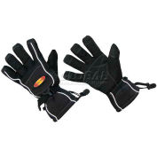 ThermaFur™ Air Activated Heating Sport Gloves, S/M, Black