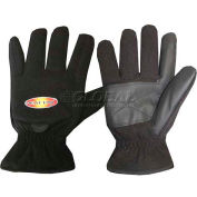 ThermaFur™ Air Activated Heating Full Finger Gloves, Med, Black
