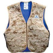 HyperKewl™ Evaporative Cooling Vest - Sport, M, Marine Desert