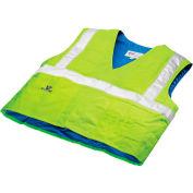 Techniche 6538 Hyperkewl™ Evaporative Cooling Traffic Safety Vest Class 2, S/M, Hi-Vis