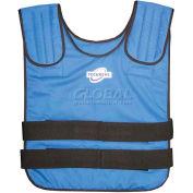 TechKewl™ Phase Change Cooling Vest Pullover, L/XL, Blue