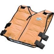 TechKewl™ Phase Change Cooling Vest, M/L, Khaki