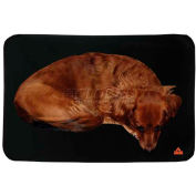 ThermaFur Air Activated Warming Dog Pad, MED, Black