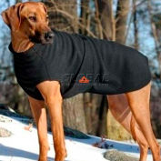 ThermaFur Air Activated Heating Dog Coat, XSmall, Black